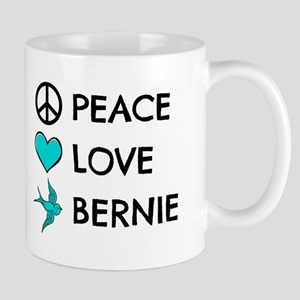 Peace * Love * Bernie Mugs