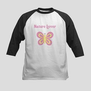 Butterfly Kids Baseball Jersey