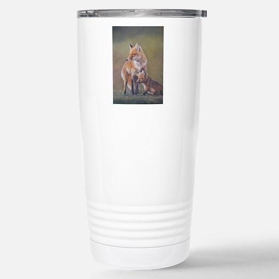 Unique Fox kit Travel Mug
