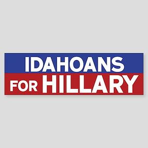 Idahoans for Hillary Bumper Sticker