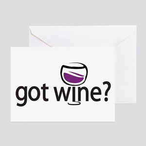 got wine? Greeting Cards (Pk of 10)