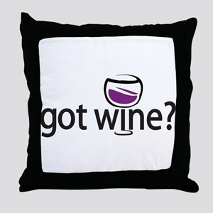 got wine? Throw Pillow