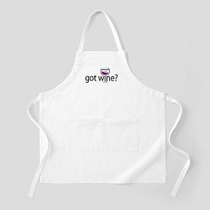 got wine? BBQ Apron