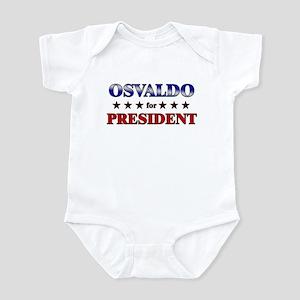 OSVALDO for president Infant Bodysuit