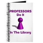 Professors Do It In The Library Journal