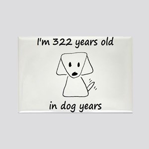 46 Dog Years 6-2 Magnets