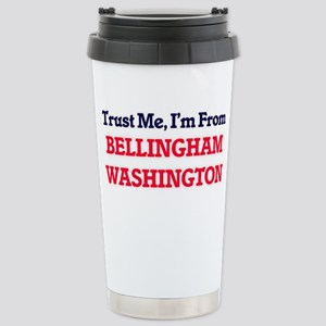 Trust Me, I'm from Bell Stainless Steel Travel Mug
