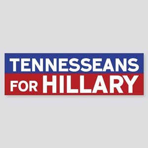 Tennesseans for Hillary Bumper Sticker