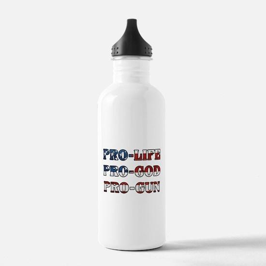 Unique God us Water Bottle