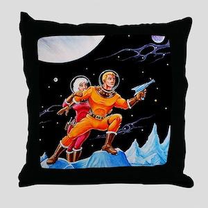 FROZEN WORLD Throw Pillow