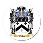 Walker 2 Round Car Magnet