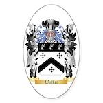 Walker 2 Sticker (Oval)
