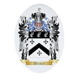 Walker 2 Oval Ornament
