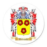 Walewski Round Car Magnet