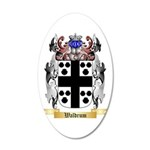 Waldrum 20x12 Oval Wall Decal