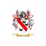Waldron Sticker (Rectangle 50 pk)