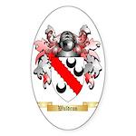 Waldron Sticker (Oval 10 pk)