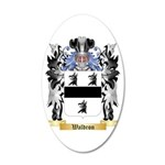 Waldron 2 20x12 Oval Wall Decal