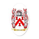 Walcott Oval Car Magnet