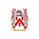 Walcott Sticker (Rectangle 10 pk)
