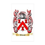 Walcott Sticker (Rectangle 50 pk)