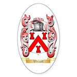 Walcott Sticker (Oval)