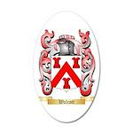 Walcott 20x12 Oval Wall Decal