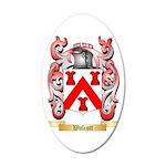 Walcott 35x21 Oval Wall Decal