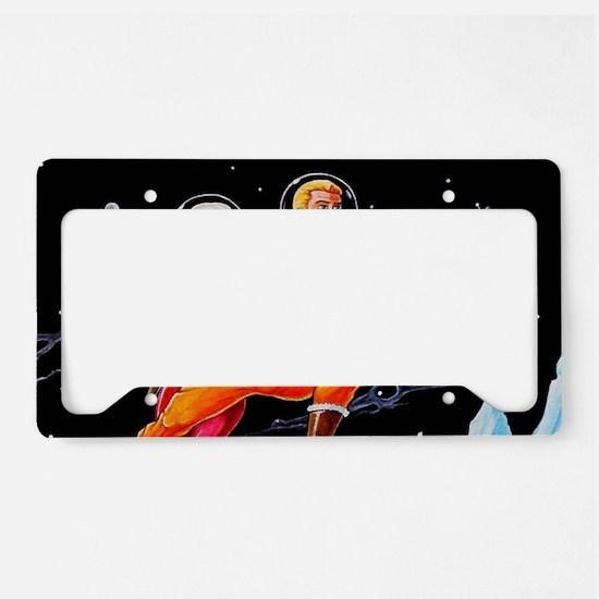 FROZEN WORLD License Plate Holder