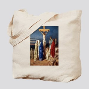 The Crucifixion of Jesus Tote Bag