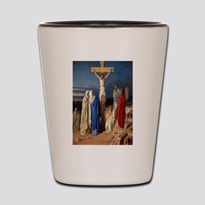 The Crucifixion of Jesus Shot Glass
