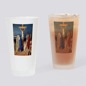 The Crucifixion of Jesus Drinking Glass