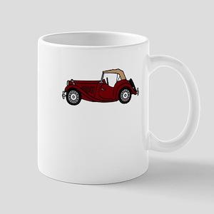 MGTD Burgundy Mug