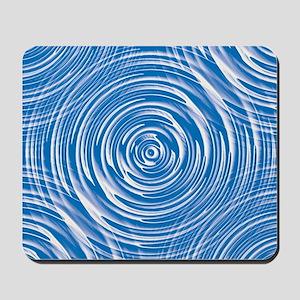 Blue Water Waves Mousepad