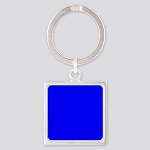 Simply Blue Solid Color Keychains