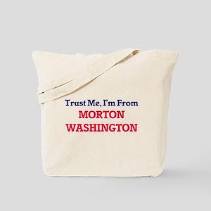 Trust Me, I'm from Morton Washington Tote Bag