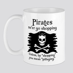 Pirates on Shopping Mug