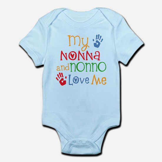 Nonna and Nonno Love Me Body Suit