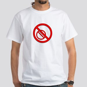 "New 'Don't ""Don't"" Me' anarchy symbol White T-Shir"
