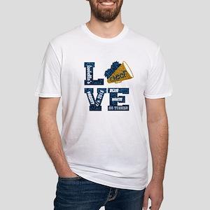 Cheerleader Love Personalize T-Shirt