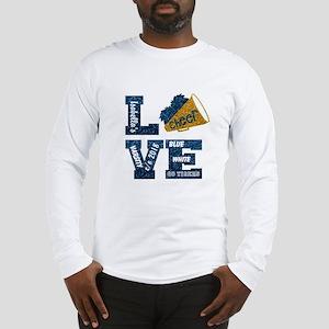 Cheerleader Love Personalize Long Sleeve T-Shirt
