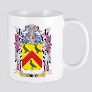 Cardy Coat of Arms (Family Crest) Mugs