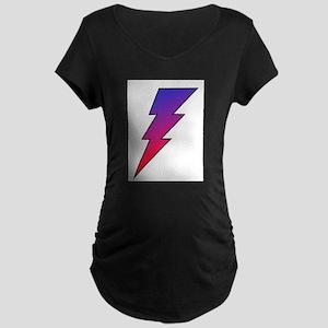 The Lightning Bolt 2 Shop Maternity Dark T-Shirt
