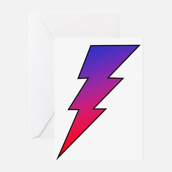 The Lightning Bolt 2 Shop Greeting Card