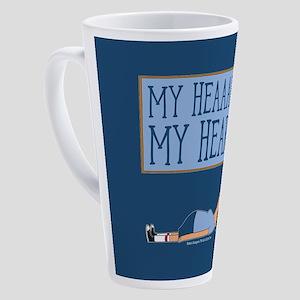 Bob's Burgers Tina Heart 17 oz Latte Mug