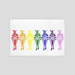 Technicolor Dream 4' x 6' Rug