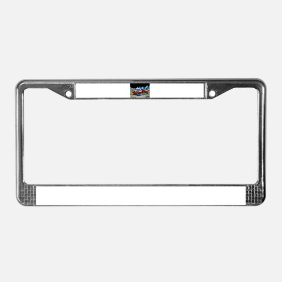 SPACE TANK License Plate Frame