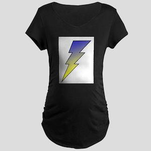 The Lightning Bolt 3 Shop Maternity Dark T-Shirt