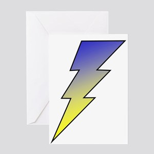 The Lightning Bolt 3 Greeting Card