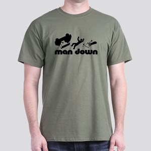 man down golfer Dark T-Shirt